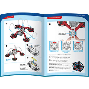 manual, instruction book, step-by-step, how to, building parts, educational value, explain