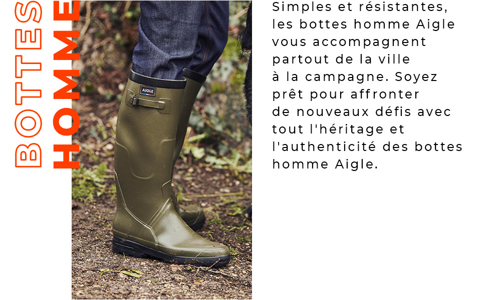 Aigle Benyl XL, Chaussures de Chasse Homme