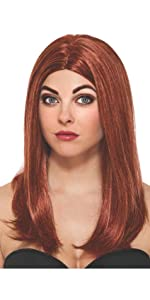 Black widow wig