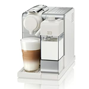 Nespresso by DeLonghi EN560S Lattissima Touch Original Espresso Machine with Milk Frother by DeLonghi, Frosted Silver