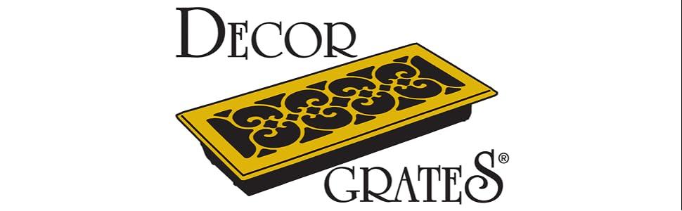 Amazon.com: Decor Grates AJL614W-NKL Oriental Wall Register, 6-Inch ...