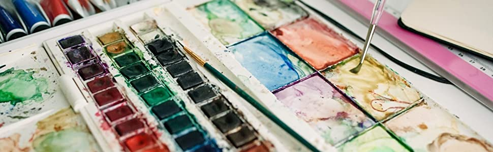 artwork creation; original art; watercolor