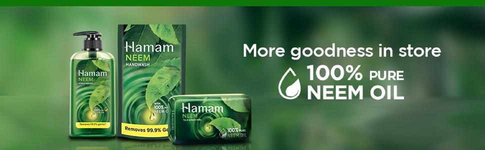 Hamam Neem Tulsi & Aloe Vera Body Wash 250 ml