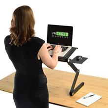 Simple Portable Laptop Standing Desk Riser