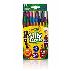 Crayola Silly Scents Scented Mini Twistables Crayons