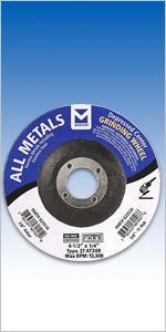 All Metals Grinding Wheel Type 27 (Five Sizes)