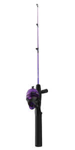 Dock Demon Purple Spincast