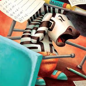 All My Stripes autism book scared zebra