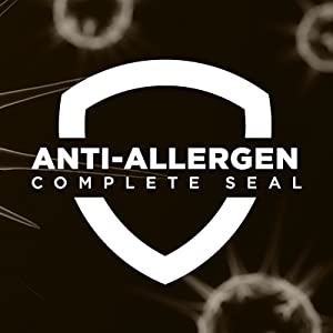 The Anti-Allergen complete seal technology will protect you