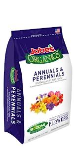 annuals perennials flowers organic fertilizer slow time release granular
