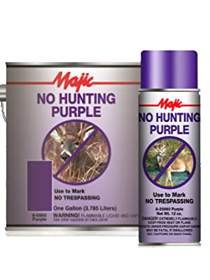 No Hunt Paint Available in Quarts and 12-Ounce Spray Pack