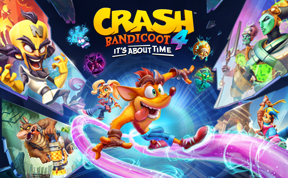 CRASH 4, PS4