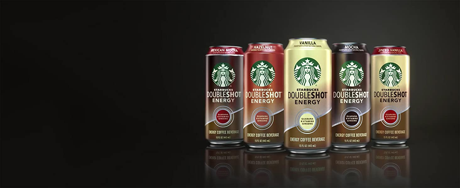 Starbucks Doubleshot Energy Coffee Mocha 15 Fl Oz Pack Of 12