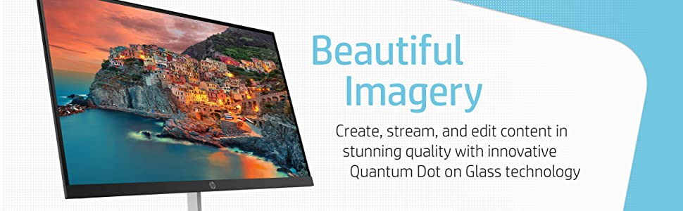 HP Quantum Dot 27 Display