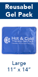 Amazon.com: Roscoe Reusable Cold Pack and Hot Pack – Ice ...