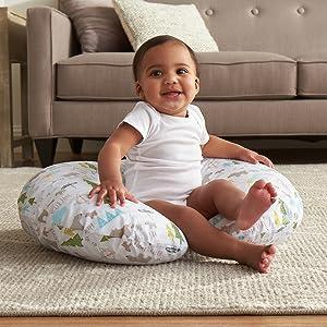boppy pillow, boppy pillow cover, nursing pillow, infant, newborn, nursing, breastfeeidng