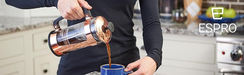 Espro Press P5 French Press Manual Coffeemaker