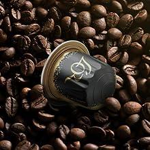 L'OR espresso in nespresso apparaat