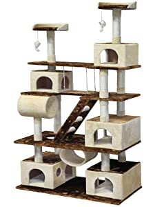 go pet club giant cat tree condo