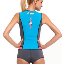 Cressi Idra Swimsuit Neoprene 2mm Maillot de Bain pour Femme