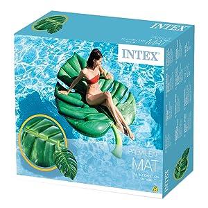 Intex,foglia,materassino