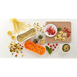 Lékué - Recipiente para cocinar pasta en microondas: Amazon.es: Hogar