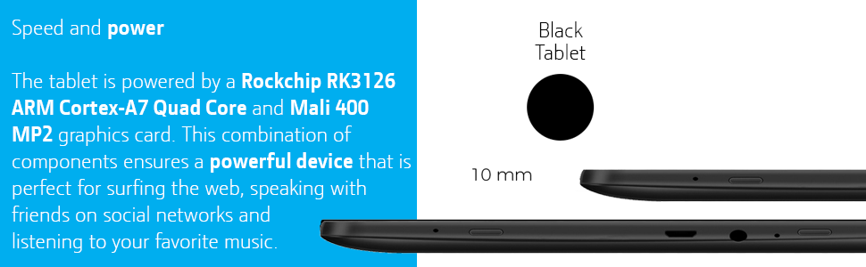 eSTAR GRAND 10 1 Inch Tablet with Front & Rear Camera, Intel