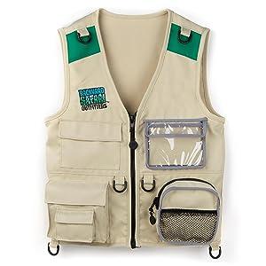 Amazon.com: Backyard Safari Cargo Vest: Toys & Games