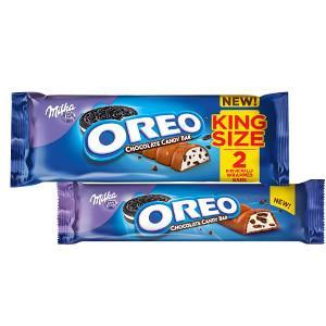 Amazon.com : Milka Oreo Big Crunch Chocolate Candy Bar, 10.58 ...