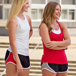 Team Shorty Short, running shorts