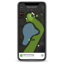smart caddie advice recommendations club distances tracking performance data insights AI