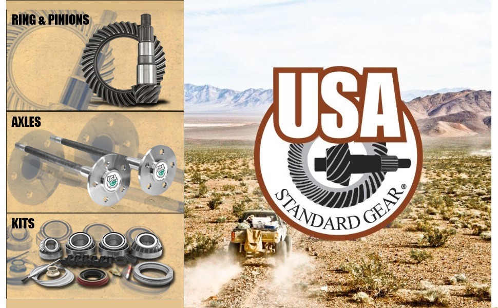 USA Standard Gear - For the Road Ahead