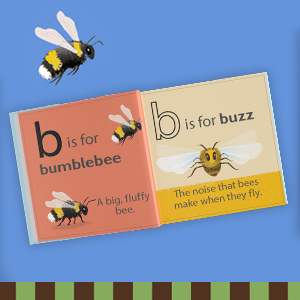Interior image from B is for Bee