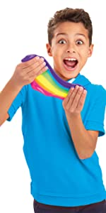 Cra-Z-Art Nickelodeon Pre-made Slime Super Duper Slimy Bendz Kit, slime toys, safe slime, fun slime