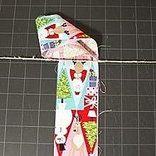 ribbon diy, fabric garland, fabric, strips