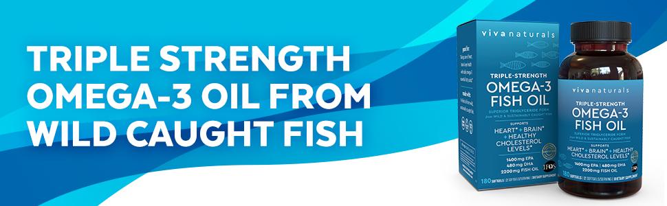 fish oil triple strength omega 3 epa dha wild caught fish omega3 krill oil