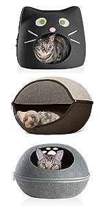 furhaven; product; comparison; pet; cat; house; felt; cubby