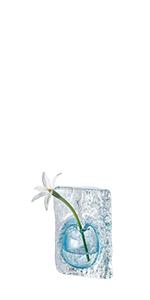 ガラス グラス クリスタル ベース 花器 花瓶 ホテル ロビー 高級 一輪挿し