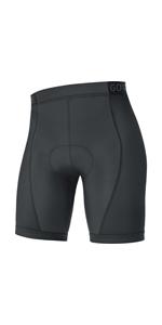 C3 Women Thermo Bib tights+ 100329 Con fondello Nero GORE Wear Salopette traspirante da donna 38