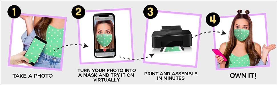 print at home mask