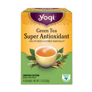 Yogi Tea, Super Antioxidant Green, 16 Count
