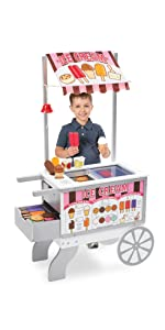 cones;pretend;food;shop;store;dessert;sweets;topping;sundae;ice;cream;counter