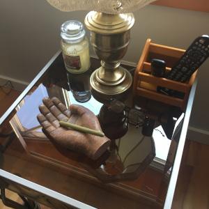 Ash Tray Coffee Table