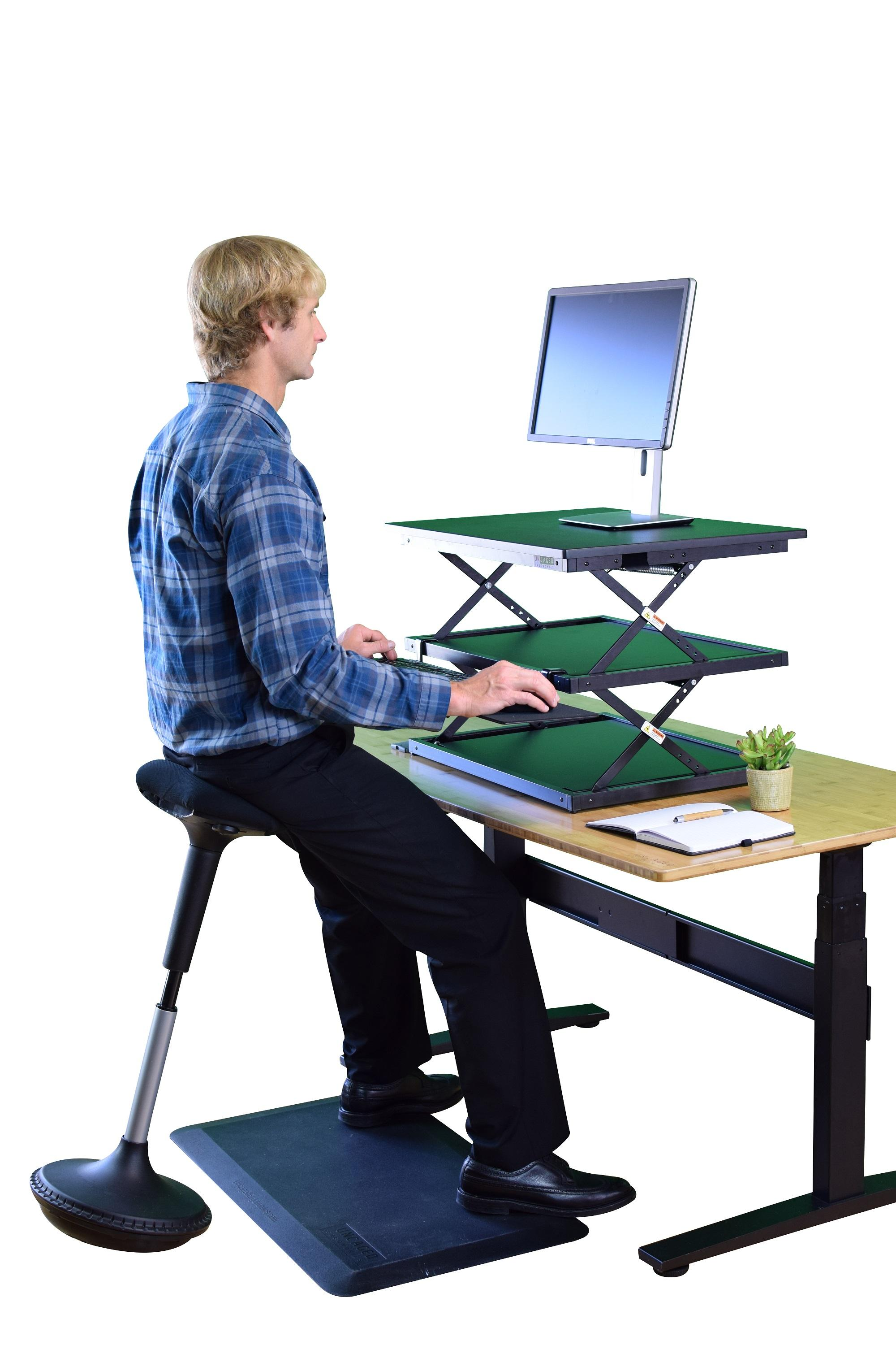Uncaged Ergonomics Wobble Stool Adjustable Height Active