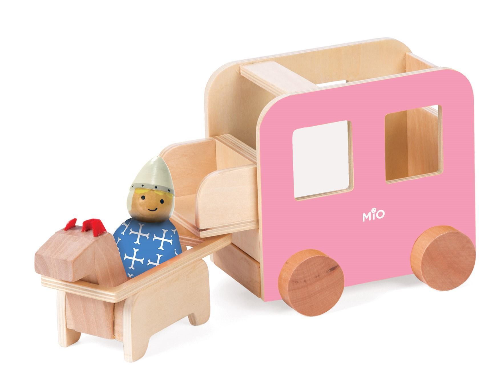 Amazon Manhattan Toy Mio Wooden Carriage Horse 1 Bean Bag