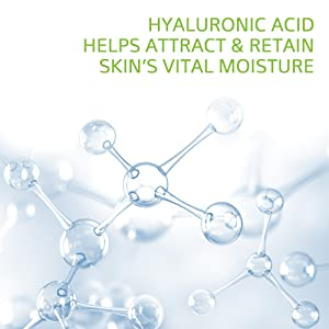 Hyaluronic Acid Helps Attract and Restore Skin's Vital Moisture