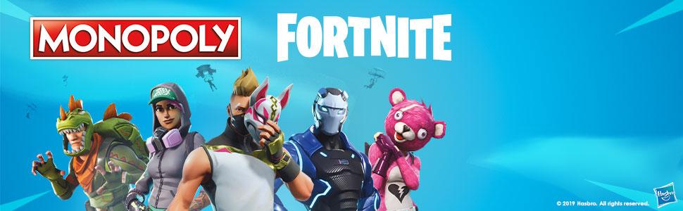 Monopoly- Fortnite (Hasbro E6603521): Amazon.es: Juguetes y juegos