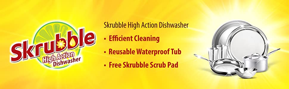 Skrubble HIgh Action Dishwasher Tub