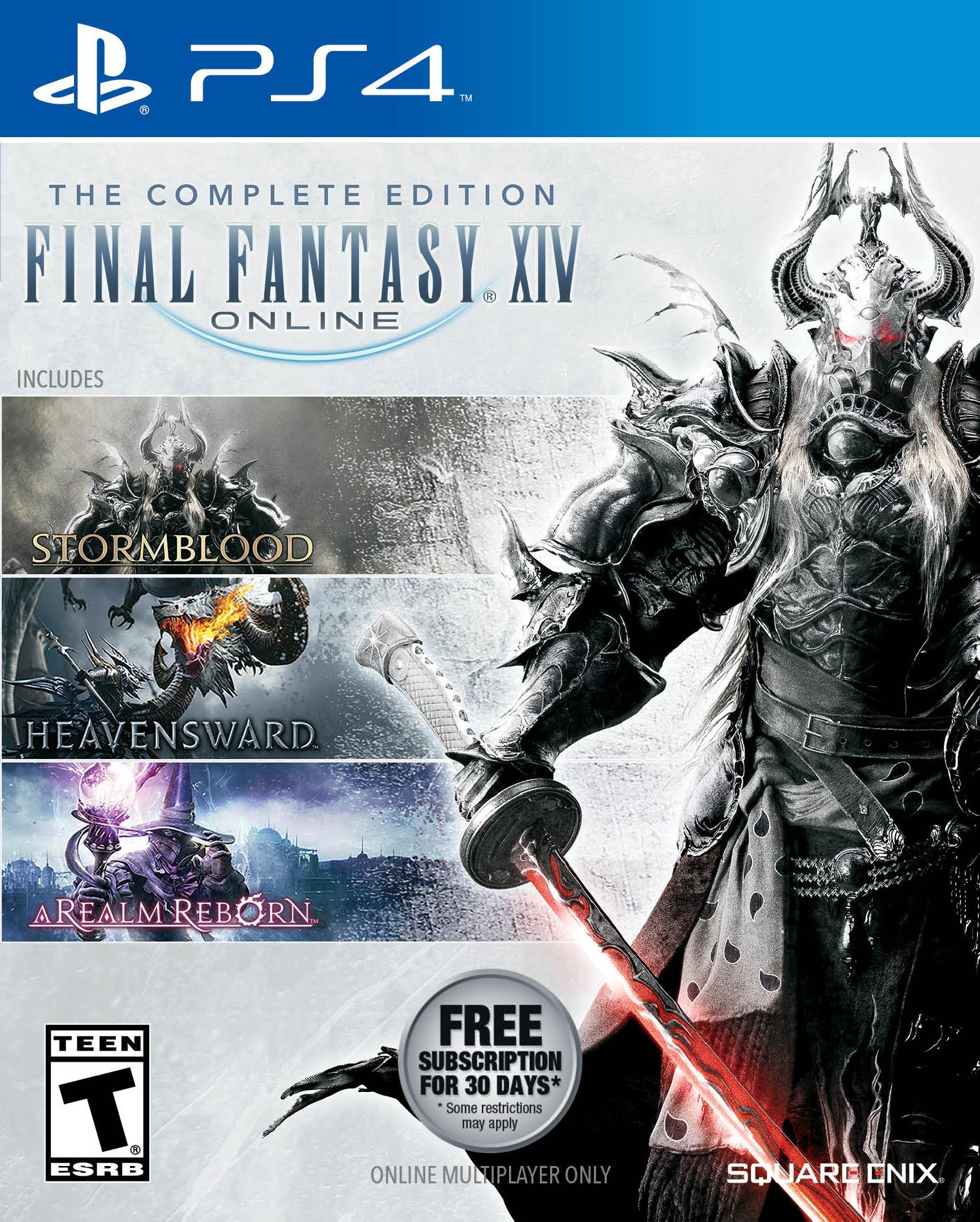final fantasy a realm reborn free to play ps4
