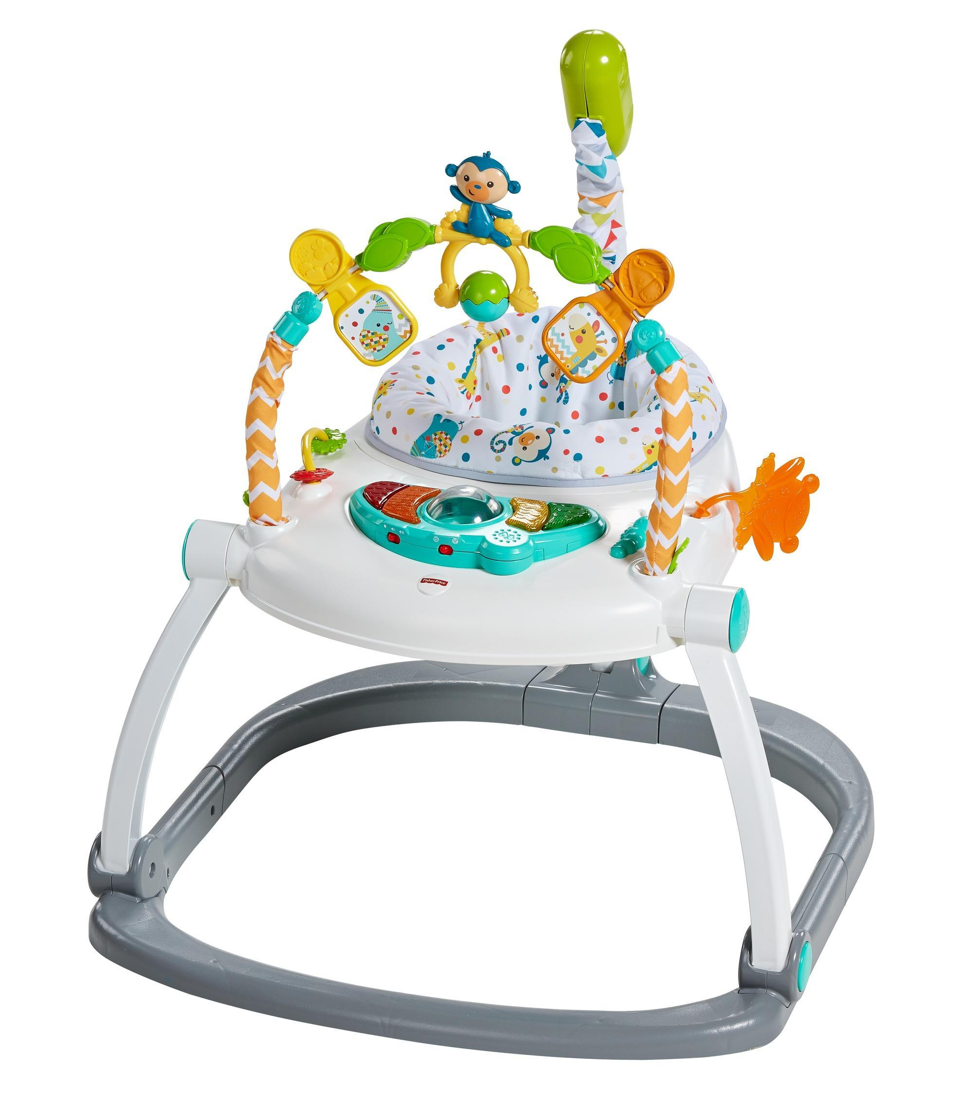 fisher-price colourful carnival spacesaver jumperoo instructions